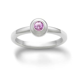 💖James Avery Remembrance Ring W/ Pink Sapphire💖